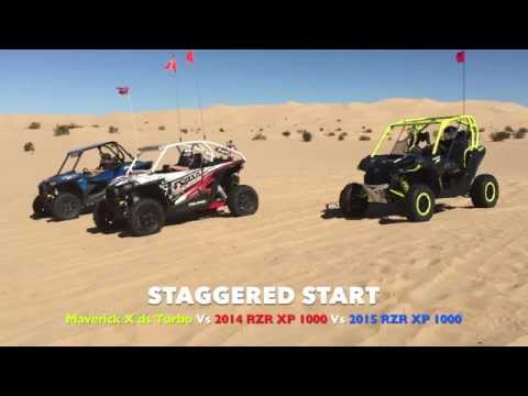 Can-Am Maverick X ds Turbo Vs Polaris RZR XP1000