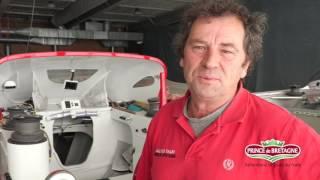 Lionel Lemonchois embarque Bernard Stamm pour la Transat Jacques Vabre