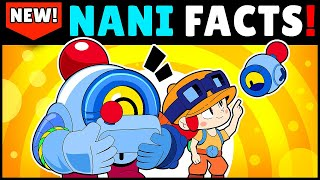 25 NANI FACTS You Shouldn't Miss! Before Release | Brawl Stars Unlocking Nani Gameplay