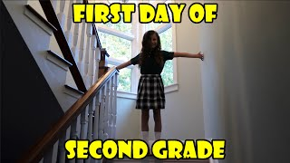 First Day of Second Grade (WK 295.6) | Bratayley