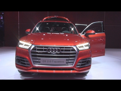 Audi Q5 2.0 T quattro (2017) Exterior and Interior in 3D