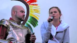 Barbara Nowacka na Paradzie Równości 2014