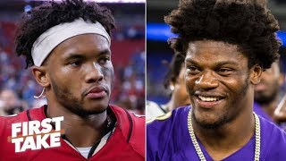 Will Kyler Murray ever be as good as Lamar Jackson? Max Kellerman is doubtful | First Take