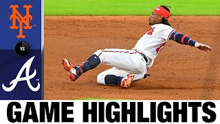 Ronald Acuna Jr., Marcell Ozuna homer in win over Mets   Mets-Braves Game Highlights 8/1/20