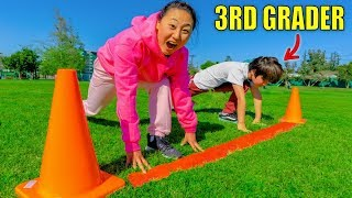 ARE YOU FASTER THAN A 3RD GRADER?!