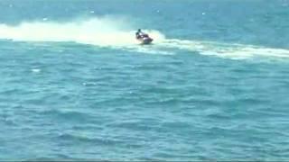 En moto de agua