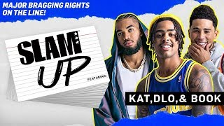 Karl Towns, D'Angelo Russell & Devin Booker go HEAD-TO-HEAD 🤮 | SLAM Up