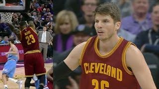 Kyle Korver 18 Pts off the Bench! LeBron James Alley Oop! Cavs vs Kings