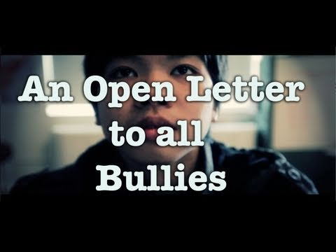 An Open Letter to All Bullies: A Jubilee Project PSA and Fundraiser