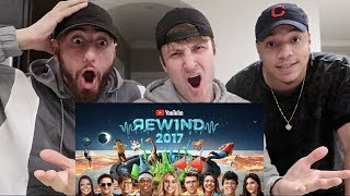 REACTING to YouTube Rewind: The Shape of 2017 | #YouTubeRewind