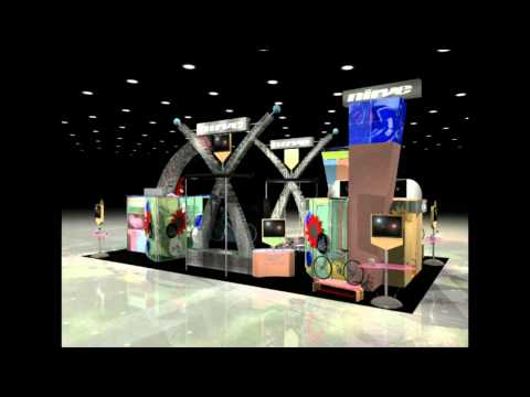 Nirve 30x40 Booth - By Blazer Exhibits