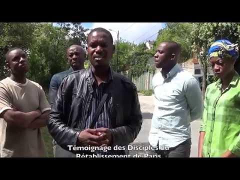 TÉMOIGNAGE DES DISCIPLES DU RÉTABLISSEMENT DE PARIS