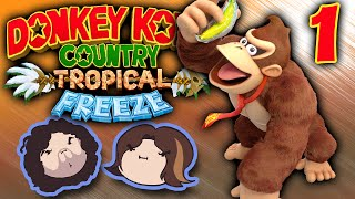 Donkey Kong Country Tropical Freeze: Banana Party! - PART 1 - Game Grumps