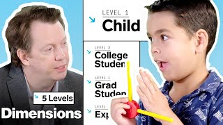 Physicist Explains One Concept in 5 Levels of Difficulty | WIRED
