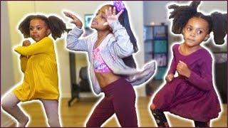 TWINS LEARN SHAKU SHAKU DANCE with HEAVEN KING | AFROBEATS