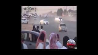 تفحيط خطير حوادث في السعودية 2015 -