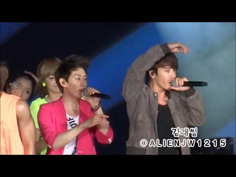 120818 SMTOWN LIVE WORLD TOURⅢ 슈퍼주니어 (Feat. F(x)) - Oops!!