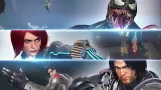 Marvel vs. Capcom: Infinite - Tél Katonája, Fekete Özvegy és Venom Játékmenet Trailer