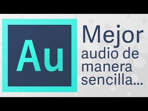 Limpiar voz y mejorar audio // Adobe Audition CC