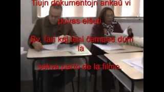 (VIDEO 3KUB9c1TY1U) Esperanto por lernejaj klasoj - Trejnado kun Josias Barboza