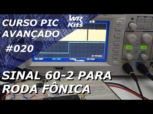 SINAL 60-2 PARA RODA FÔNICA | Curso PIC Avançado #020