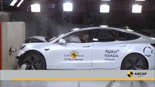 Tesla 3 and Audi A6 score a 5 star ANCAP safety rating