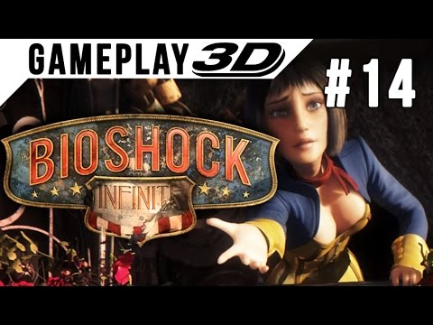 BioShock: Infinite #014 3D Gameplay Walkthrough SBS Side by Side (3DTV Games)