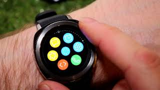 Samsung Gear Sport - Exploring the built in Widgets out of the box