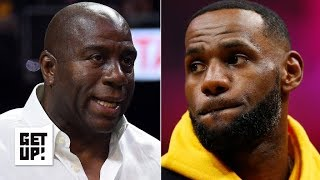 LeBron was 'stunned' by Magic Johnson's resignation – Brian Windhorst | Get Up!