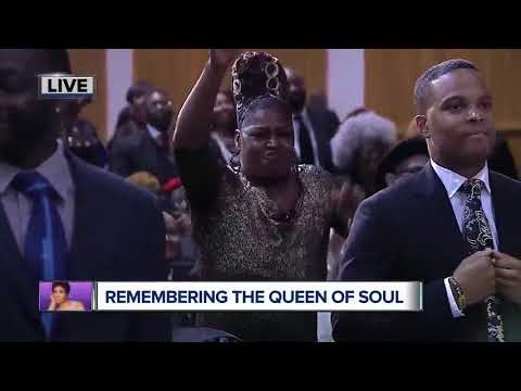 Dancing at Aretha Franklin's Funeral