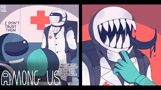 The Imposter Doctor | (Among Us Comic Dub)