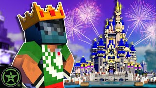 King Jack Takes Us to Disney World's Magic Kingdom - Minecraft