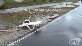 09-13-18 North Topsail Beach, NC - Florence outer bands and Wind damage