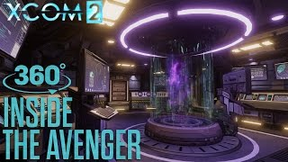 """XCOM 2 - """"Inside the Avenger"""" 360° Video"""