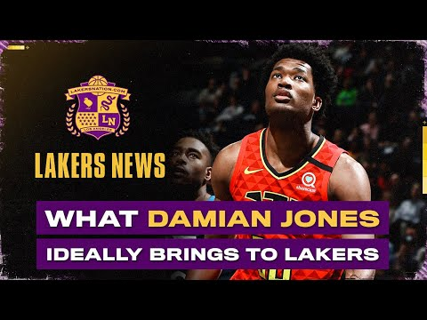 What Damian Jones Brings To The Lakers If Everything Breaks Right