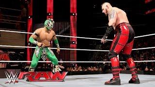 Kalisto vs. Konnor: Raw, March 28, 2016