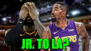 JR SMITH TO THE LAKERS? Lakers Have Interest In Signing JR Smith Once Available