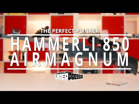 Hammerli 850 AirMagnum : The Perfect Plinker