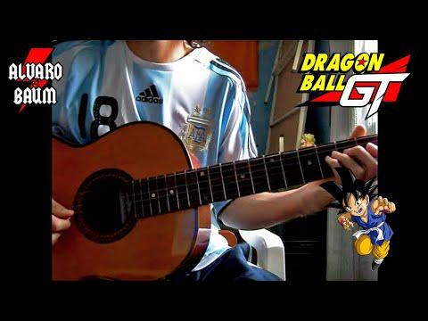 dragon ball gt guitarra acustica