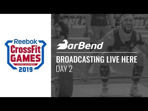 2019 Reebok CrossFit Games Day 2 — LIVE