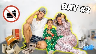 WE STILL CAN'T LEAVE OUR HOME! **DAY 2** | The Royalty Family