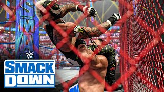 Roman Reigns vs. Rey Mysterio - Universal Title Hell in a Cell Match: SmackDown, June 18, 2021
