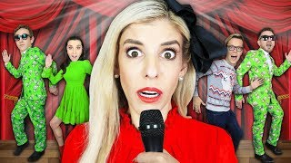 Giant REWIND Musical in REAL LIFE to TRAP Hacker! (Game Master Battle Royale) | Rebecca Zamolo