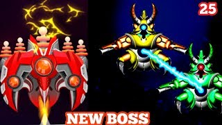 New Boss 25   Space Shooter Galaxy Attack 2019 Gameplay