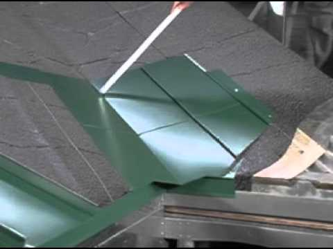 How to Install Valley Flashing on a Standing Seam Metal Roof