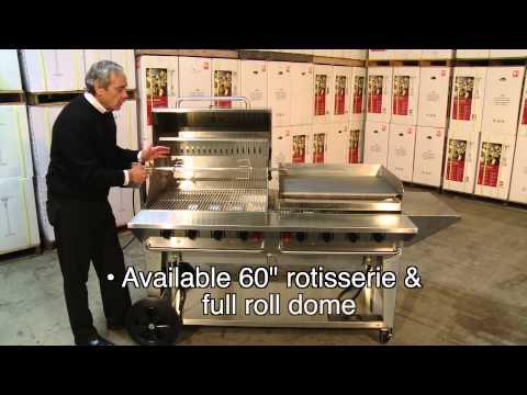 "Crown Verity Inc. -  60"" & 72"" grills"