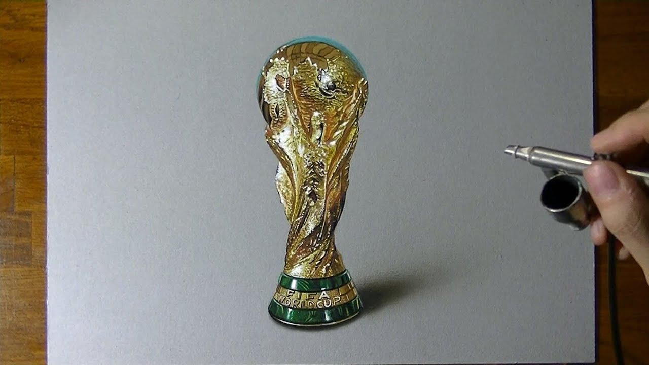 Comment dessiner le trophée de la FIFA world cup ?