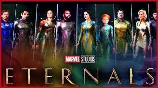 Filtración de la Historia de los ETERNALS - Fase 4 Marvel -