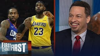 Clippers are the biggest threat to the Lakers' title chances — Broussard   NBA   FIRST THINGS FIRST