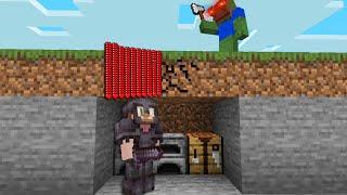 Minecraft Manhunt BUT I Secretly Cheat With /Effect...